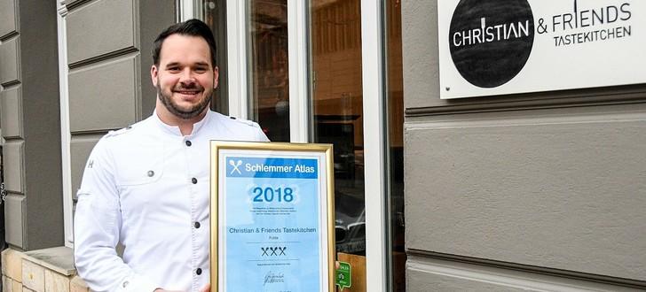 Bester Koch Fuldas? – Christian Steska bekommt drei Kochlöffel